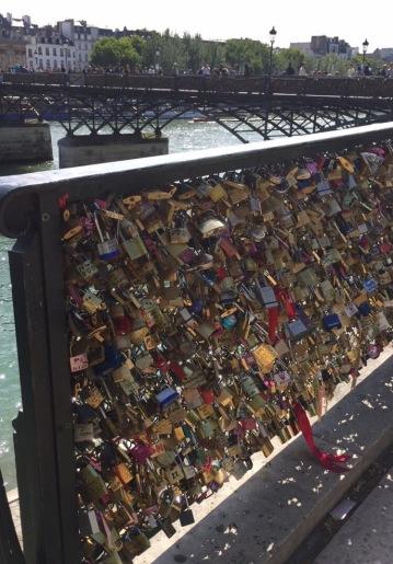 Key locks of Pont de l'Archevêché