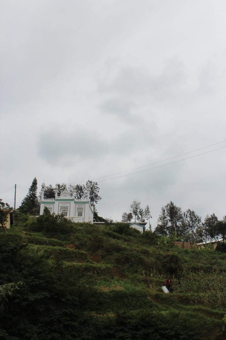 A beautiful Mosque at the top of a hill