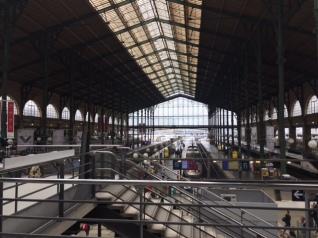 Gare Du Nord - BYE BYE PARIS