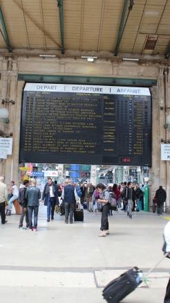 Gare du Nord International Train Station