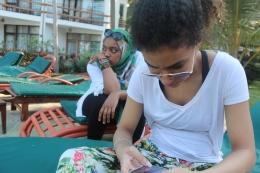Shareefah and Fatma